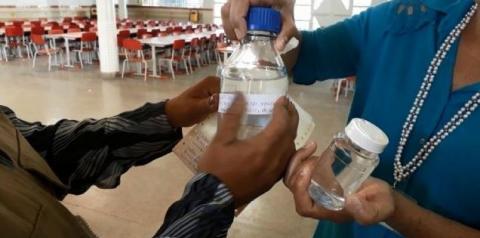 Vigilância Ambiental inspeciona qualidade da água das escolas de Santa Maria