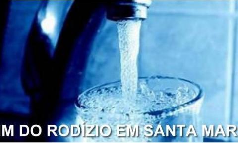 Chega ao fim o racionamento de água em Santa Maria