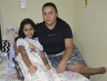 Belinha (de Santa Maria) precisa de ajuda para continuar seu tratamento em Goiânia