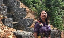 Prefeita Sônia Chaves acompanha de perto a evolução da obra do buracão do Pedregal
