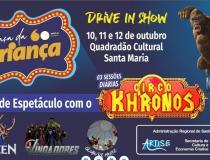 Praça da Criança leva diversão gratuita para meninos e meninas de Santa Maria