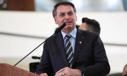 POLÍTICA 'Quando acabar a saliva, tem que ter pólvora', diz Bolsonaro em indireta a Biden sobre Amazônia