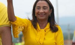 Prefeita Sônia Chaves agradece a Deus e a comunidade pela campanha.