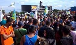 Eleitores alegam fraude e protestam por nova eleição em Águas Lindas (GO)