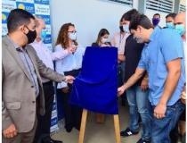 Robério  e Ibaneis  Rocha participam de inauguração de Agência do Trabalhador em Santa Maria