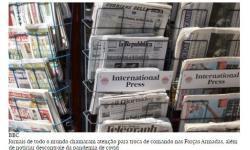 'Contagem regressiva para catástrofe': a repercussão da crise política e de saúde do Brasil na imprensa internacional