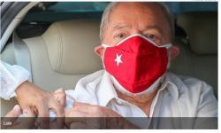 Em carta, Lula sugere governança global contra a Covid-19