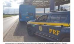 PRF prende homem por importunar sexualmente adolescente em ônibus no DF
