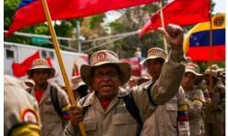 'Guerra de Todo o Povo': Maduro evoca Fidel e envia milícia armada para fronteira com Colômbia