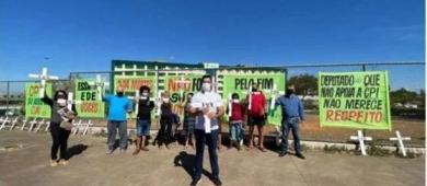 Políticos pára-quedistas começam cair em Santa Maria