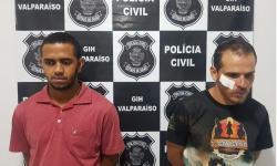 Dois são presos e mais de meia tonelada de maconha apreendida, em Novo Gama
