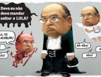 Ministro Gilmar Mendes decide adiar julgamento de Lula