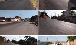 Recapeamento Asfáltico da principal do Pedregal melhora qualidade do trânsito e favorece comércio no Centro da cidade