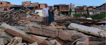 Reintegração de posse deixa dezenas de desabrigados em Belém, no Pará