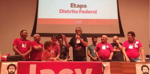 Jacy Afonso é eleito novo presidente do PT no Distrito Federal