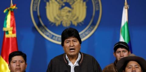 Evo Morales renuncia ao governo da Bolívia
