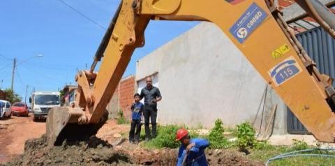 Mais de 150 novos hidrômetros são instalados no residencial Ribeirão, em Santa Maria