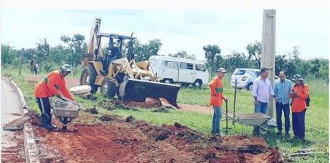 Administração inicia obras no parque Ecológico de Santa Maria