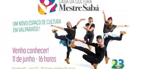 Inauguração do Espaço Cultural.