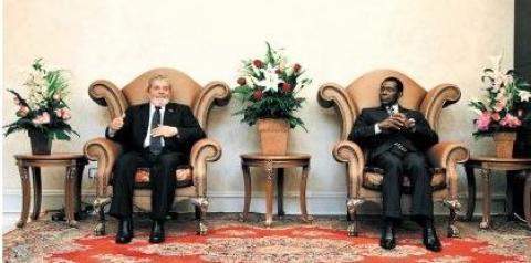 ISTOÉ: A Mala Suspeita Dos Amigos De Lula