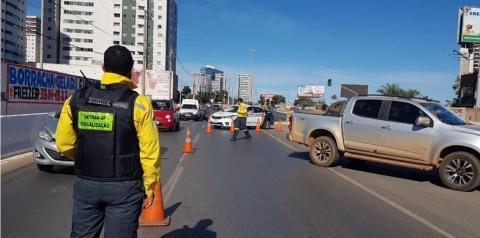 Em Brasília o novo chefe do Detran-DF já recebeu 35 multas na carteira