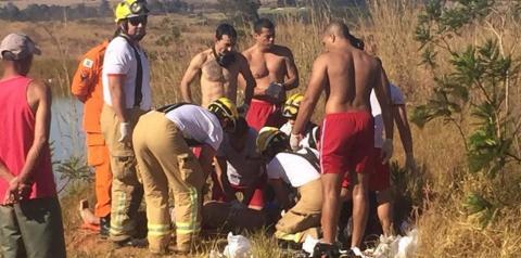 Homem de 43 anos morre afogado em lago no DF