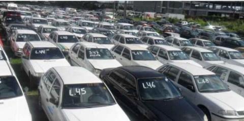 Leilão de veículos do DER em Brasília será na próxima sexta-feira