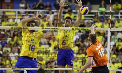 Brasil vai atrás do tri na Copa Mundial de Vôlei