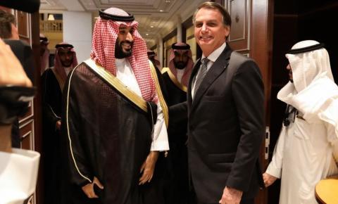 Bolsonaro firma parceria de 10 bi com os árabes