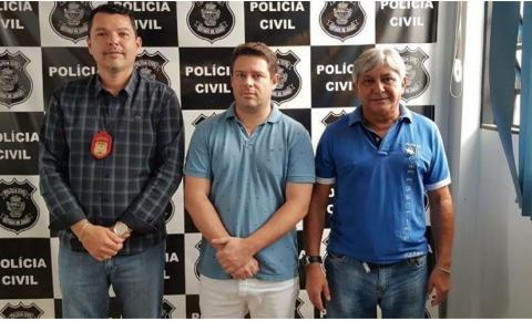 Vereador Christovam Machado se entrega a polícia em Luziânia