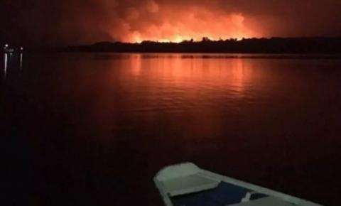 ONG pagava por fotos de queimadas antes do fogo