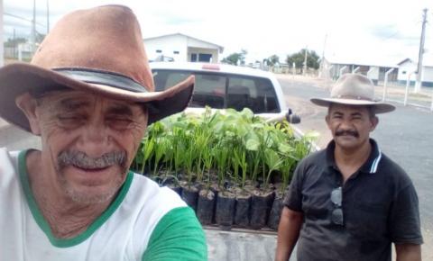 Associação dos produtores  Rurais do Distrito de Inhaúma  apresenta o Projeto Resgate  da Natureza