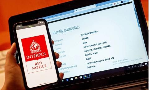 DF inclui cinco nomes de foragidos na lista vermelha da Interpol