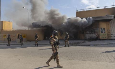 Foguetes atingem área militar dos EUA no Iraque