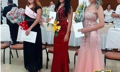 Naty Santos, de Santa Maria fica em segundo lugar no Miss Segurança 2019
