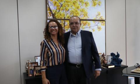 Marileide Romão, moradora de Santa Maria é a nova administradora Regional da cidade.