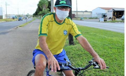 Moradores de Santa Maria ganham calçadas novas e com acessibilidade