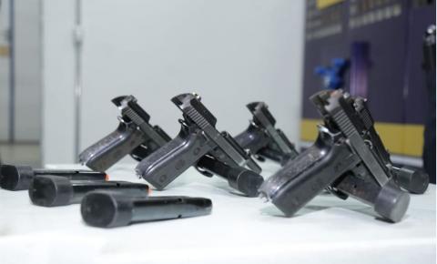 Guarda Municipal de Novo Gama agora é armada.