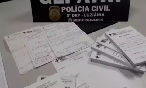 Mulher é presa em Luziânia (GO) por vender atestados médicos falsos