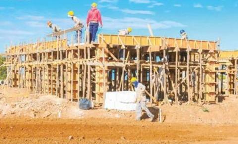 Terminal de Santa Maria Sul  já conta com 20% da obra executada