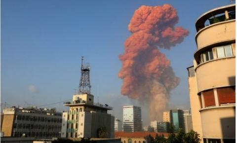 Forte explosão e medo de atentado assustam Líbano