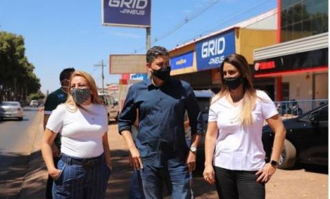 Deputada Federal Flávia Arruda visita Santa Maria