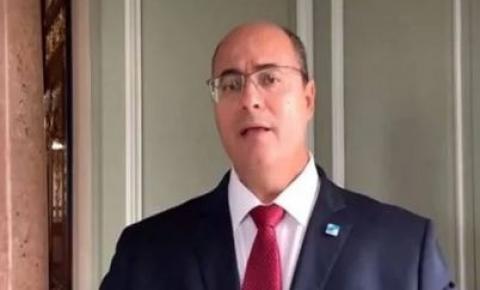 Witzel envia vídeo a deputados e faz apelo contra o impeachment.