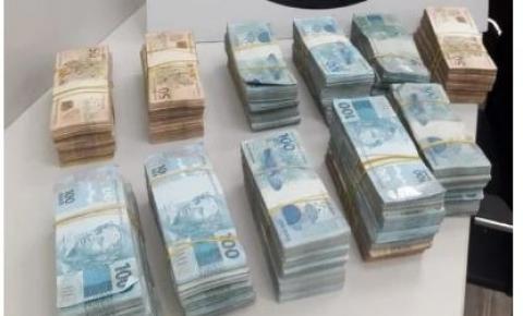 Polícia Federal apreende R$ 500 mil em espécie de suspeito de tráfico