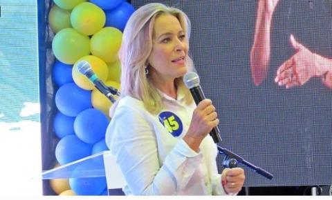 Lêda Borges é candidata a prefeita e Yvelônia será sua vice