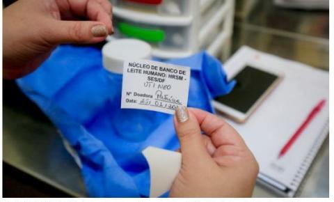 HRSM dribla dificuldades da pandemia para manter estoque do banco de leite