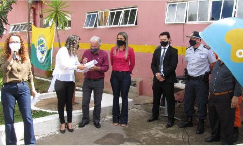Momento Cívico abre a comemoração  aniversário de Santa Maria