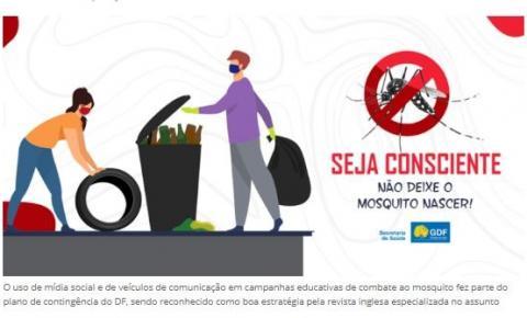 Revista inglesa destaca combate à dengue no DF