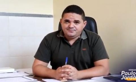 """Lockdown é politicagem e não funciona! """"Precisamos de vacina para proteger a população"""", diz o vereador Paulo Jordão."""