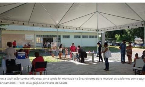 UBS 5 de Santa Maria oferece serviços durante a vacinação contra influenza